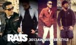 冬のアメカジメンズファッション着こなし・コーデ集 RATS(ラッツ)13AW版